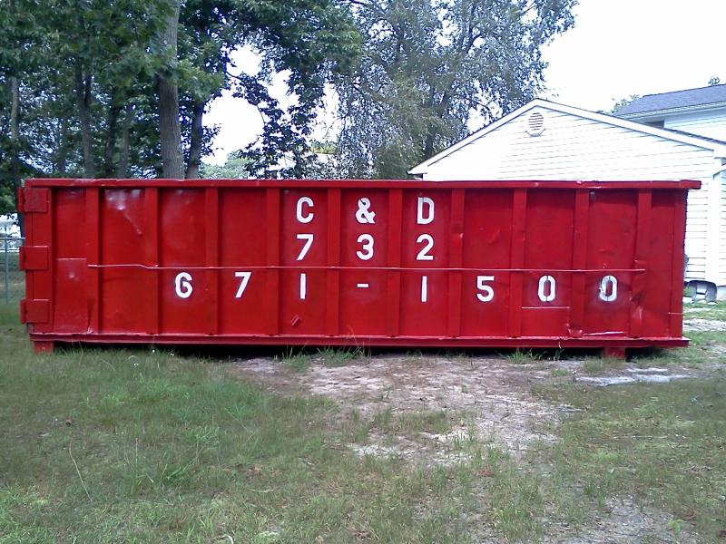 We now have 30 yd dumpsters for those big jobs!